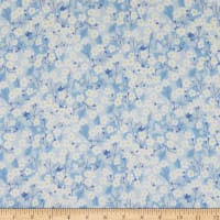 Liberty Fabrics Tana Lawn Mitsi Light Blue