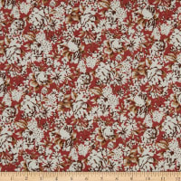 Elite Le Ciel Cotton Linen Blend Floral Rose