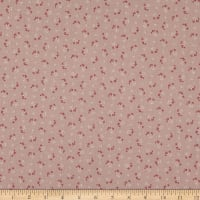 Elite Le Ciel Cotton Linen Blend Small Flowers Pink