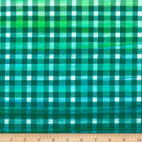 Banyan Batiks Kilts And Quilts Main Plaid Turquoise Green