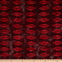 Banyan Batiks Kilts And Quilts Argyle Diamond Midn Ruby