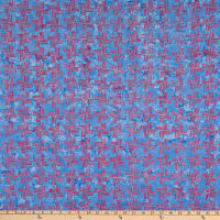Banyan Batiks Kilts And Quilts Herring Bone Blue Blush