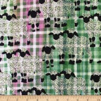 Banyan Batiks Kilts And Quilts Sheep Small Plaid Spring Pink