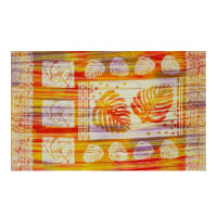 "Banyan Batiks Tapa Cloth 25"" Panel Sunset"