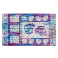 "Banyan Batiks Tapa Cloth 25"" Panel Ocean Waves"