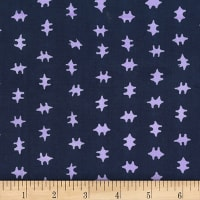 Banyan Batiks Jungle Rose Double Cross Dark Lavender