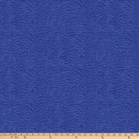 Northcott Shimmer Fantasia Tonal Feather Texture Cobalt