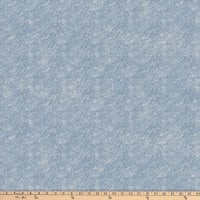 Northcott Misty Mountain Flannel Diagonal Texture Mid Indigo