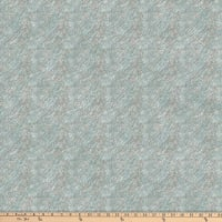 Northcott Misty Mountain Flannel Diagonal Texture Greyed Turquoise