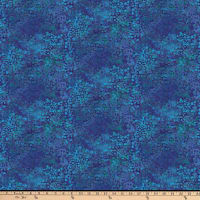 Northcott New Shimmer River Rock Deep Blue Sea