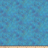 Northcott New Shimmer Pebbles Deep Blue Sea