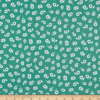 FIGO A Life In Pattern Ditsy Floral Green