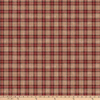Northcott Canadian Classics 2 Plaid Beige Multi