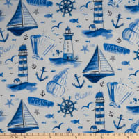 Swavelle Brant Point Indoor/Outdoor Navy