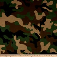 Sweatshirt Fleece Camo Green