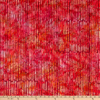 Wilmington Batiks Bamboo Sticks Red