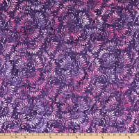 Wilmington Batiks Petals Purple