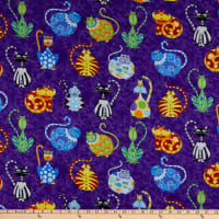 Wilmington Catmosphere Large Cats Allover Purple
