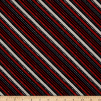 Wilmington Free Range Fresh Diagonal Stripe Black
