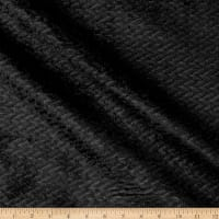 Jive Plush Upholstery Black