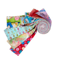 """3 Wishes Digital Good Dogs Too 2.5"""" x 42"""" Strips 21pcs"""