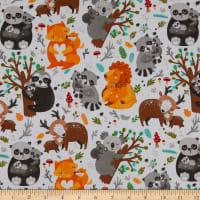 3 Wishes Animal Hugs Forest White