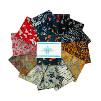Anthology Batik  Jackson PollockNumber 18 Fat Quarters Multi 12pcs