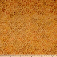 Anthology Batik Queen Bee Hives Marigold