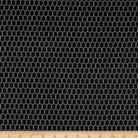 Windham Fabrics Early Bird Chicken Wire Black