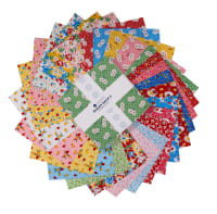 "Windham Sugarsack II 10"" Squares Multi 42pcs"