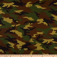 "Windham 108"" Quilt Back Camouflage Green"