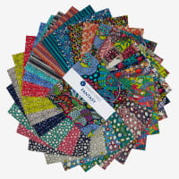 "Windham Fantasy 5"" Squares Multi 42 pcs"