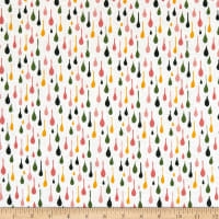Windham Pink Lemonade Raindrops Multi