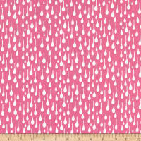 Windham Pink Lemonade Raindrops Dark Pink