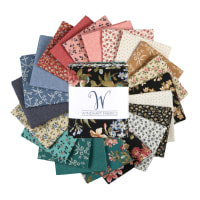 "Windham Tara 18"" Fat Quarters Multi 21 pcs"