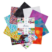 "Whistler Studios Unstoppable 10"" Squares Multi 42pcs"