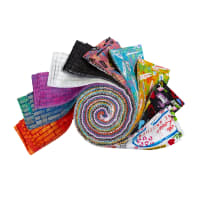 "Whistler Studios Unstoppable 2 1/2"" Strips Multi 40pcs"