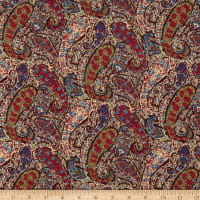 Liberty Fabrics Tana Lawn Bourton Brown/Multi