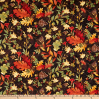 Susan Winget Fall Field Foliage Autumn Red