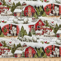 Susan Winget Christmas The Lord Is My Shepherd Multi