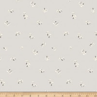 Clothworks Dreaming of Snow Toss Taupe