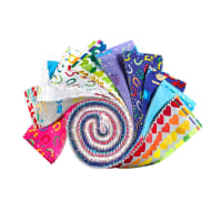 Clothworks Shine Bright Strip Rolls 40 Pcs