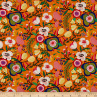 Clothworks Make Today Awesome Toss Orange