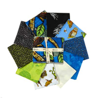 Clothworks Night Owl Fat Quarter Pack 10 pcs