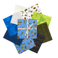 "Clothworks Night Owl 10"" Squares 42 pcs"