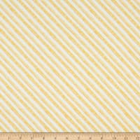 Andover Meow Meadow Candy Stripe Yellow