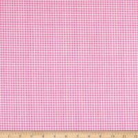 Andover Meow Meadow Gingham Pink