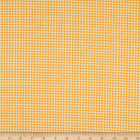 Andover Meow Meadow Gingham Orange