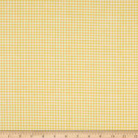 Andover Meow Meadow Gingham Yellow