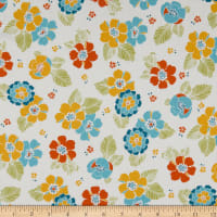 Maywood Studio Carnaby Street Spaced Blooms Ultra White
